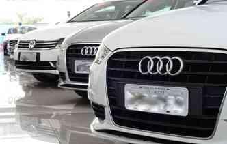 Modelos da Audi são mais procurados por jovens(foto: João Velozo/DP)