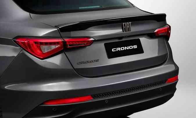 Na traseira, a cor bronze volta a aparecer no logotipo na tampa do porta-malas, no nome do modelo e no badge S-Design(foto: Fiat/Divulgação)