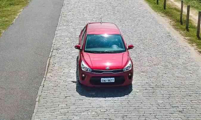A expectativa da Kia é vender apenas 2.400 unidades por ano do Rio no mercado brasileiro(foto: Kia/Divulgação)