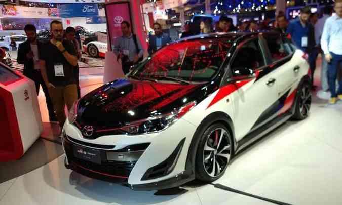 Toyota Yaris GR-S também deve chegar ao mercado(foto: Pedro Cerqueira/EM/D.A Press)