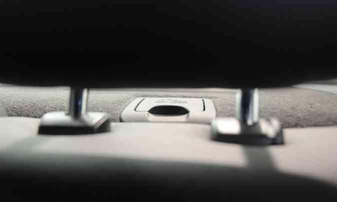 O latch garante o menor deslocamento do assento infantil no momento da colisão(foto: Cristina Horta/EM/D.A Press)
