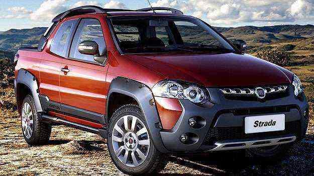 Strada Adventure possui rodas de liga-leve de 16 polegadas - Fiat/Divulgação