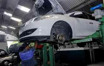 É necessário estar atento à troca de peças automotivas. Foto: Thalyta Tavares / Esp. DP