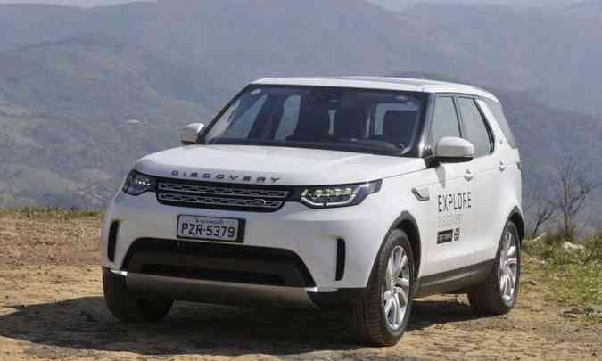 Quinta geração do Land Rover Discovery é completa(foto: Juarez Rodrigues/EM/D.A Press)