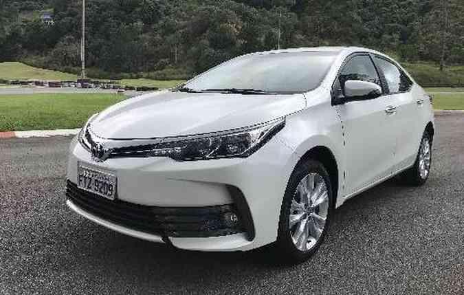 Capitaneado pelo Corolla, Toyota vendeu mais de 3 milhões de unidades(foto: Jorge Moraes/DP)