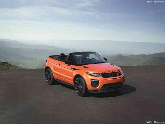 Nos Estados Unidos, a novidade foi equipada com motor 2.0 turbo a gasolina de 294 cavalos de potênciaLand Rover/divulgação