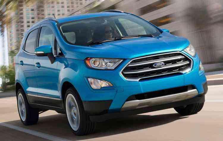 SUV compacto será distribuído para a Argentina e será fabricado no Brasil a partir de maio deste ano - Ford/Divulgação