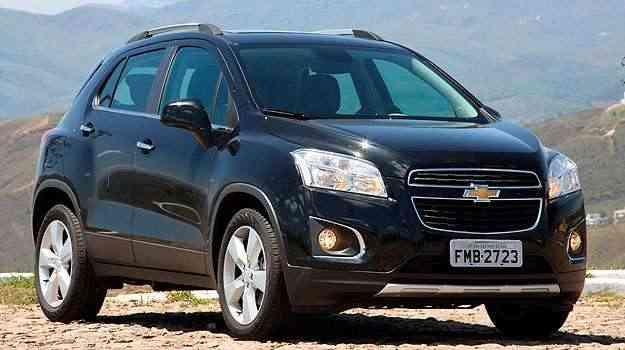 O Chevrolet Tracker chegou este ano e agradou o consumidor - Marlos Ney Vidal/EM/D.A Press