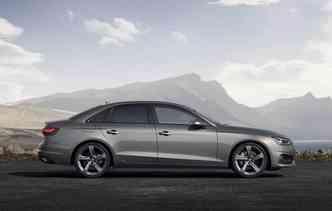 Novo A4 já está disponível para venda na Europa. Foto: Audi / Divulgação