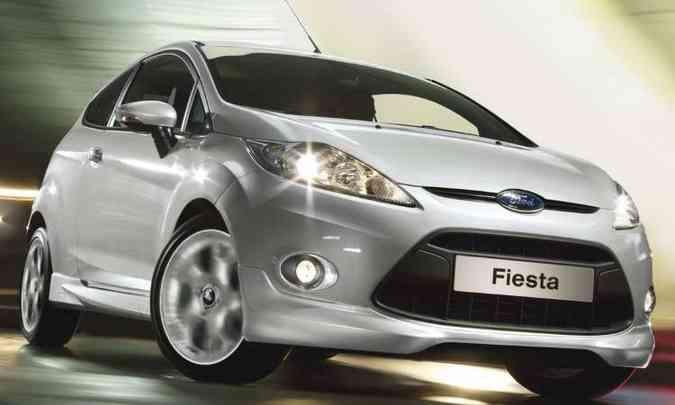 Ford Fiesta em 2009(foto: Ford/Divulgação)