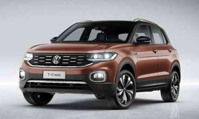 O SUV compacto será produzido na fábrica de São José dos Pinhais, no Paraná(foto: Volkswagen/Divulgação)