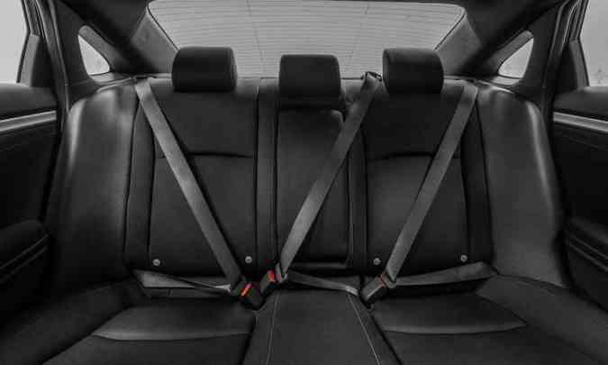 Acabamento interno é de qualidade, com boa montagem dos componentes(foto: Honda/Divulgação)