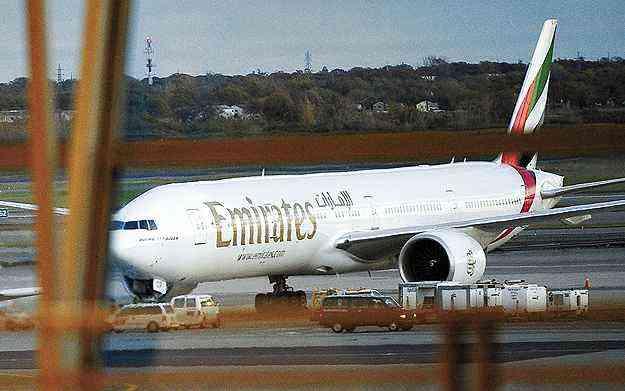A Emirates foi eleita a melhor companhia aérea do mundo - Emmanuel Dunand -AFP/29/10/10