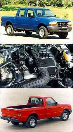 Versão lançada em 1998, mais robusta e com maior capacidade de carga, inaugurou fase com boa variedade de motores e opções de carroceria. Propulsor 2.3 a gasolina tem manutenção mais barata. No início, capacidade de carga da Ranger era de apenas 650 kg -