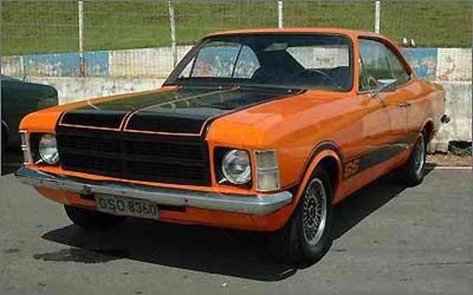 O veterano Chevrolet Opala é um dos clássicos com mais fãs e clubes