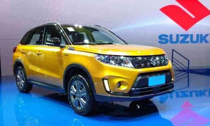 O Suzuki Vitara teve seu visual renovado, com mudanças na grade, para-choque e faróis, agora com LEDs(foto: Pedro Cerqueira/EM/D.A Press)