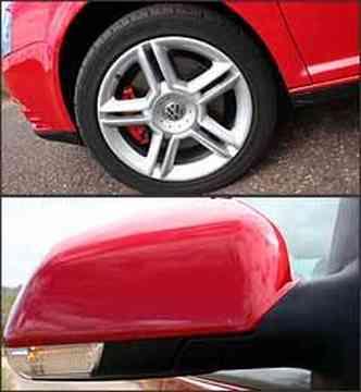 Rodas de liga-leve são novas e retrovisores incorporam indicadores de direção