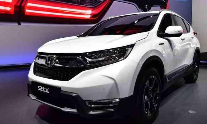 O novo Honda CR-V vai ganhar mais espaço interno e motor 1.5 turbo(foto: Tobias Schwarz/AFP)