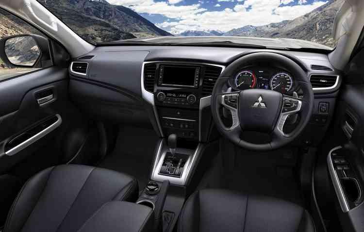 Modelo possui tipos de condução para vários terrenos. Foto: Mitsubishi / Divulgação -