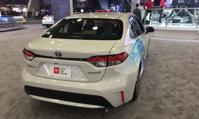 Toyota Corolla Hybrid(foto: Enio Greco/EM/D.A Press)
