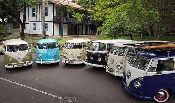 Encontros acontecem próximo ao Museu Abílio Barreto(foto: Thiago Ventura/EM/D.A Press)
