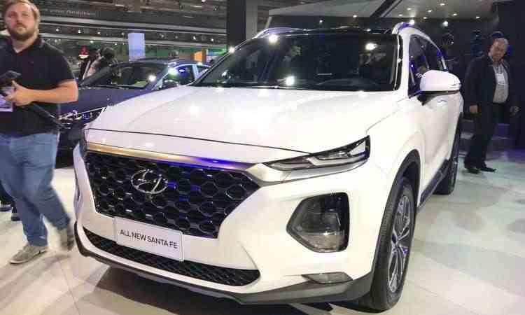 Hyundai Santa Fe - Pedro Cerqueira/EM/D.A Press