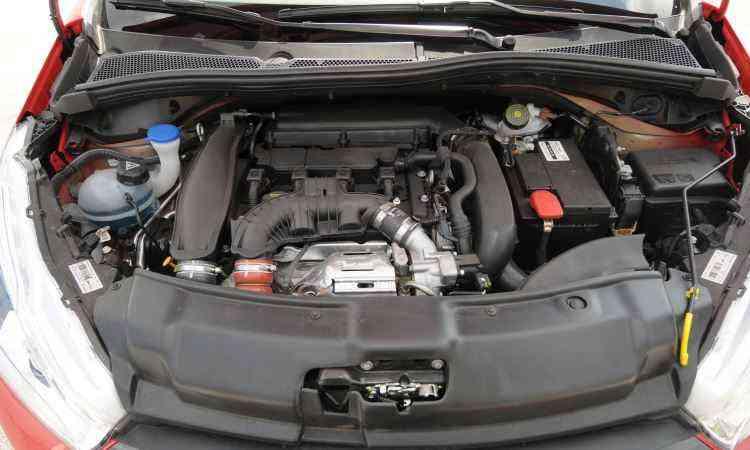 ...mas o principal destaque do carro é o motor 1.6 THP - Jair Amaral/EM/D.A Press