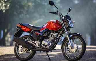 Honda lidera o ranking das motocicletas mais procuradas com a CG 160(foto: Honda / Divulgacao)