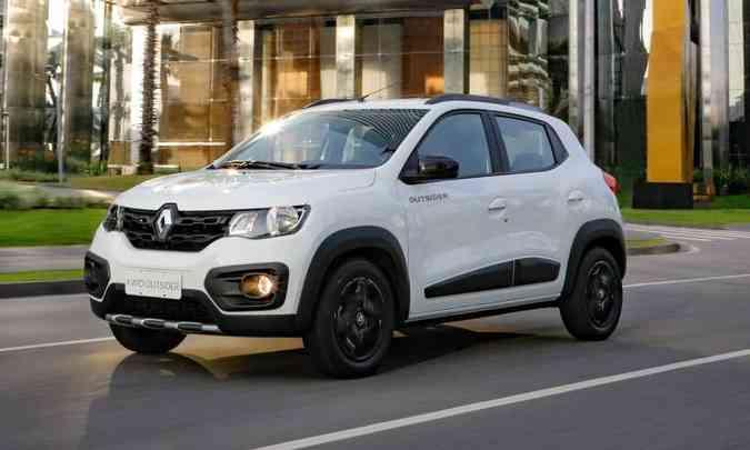 Versão Outsider do subcompacto da Renault custa R$ 2.100 a mais do que a versão Intense(foto: Rodolfo Buhrer/Renault/Divulgação)