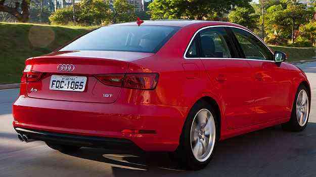 Porta-malas do A3 sedan tem 45 litros menos de capacidade que seu concorrente - Audi/Divulgação