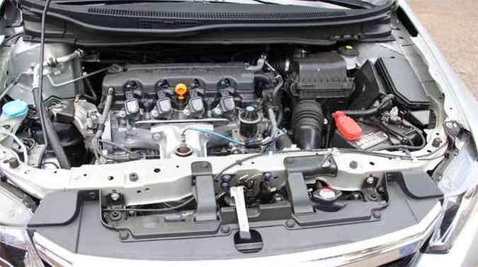 Motor 1.8 16V rende 140cv com etanol(foto: Marlos Ney Vidal/EM/D.A Press)
