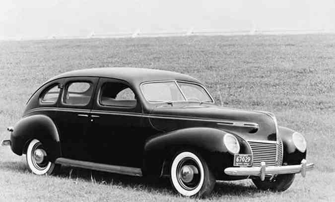 Sofisticado, o Mercury 1939 era montado somente por encomenda(foto: Ford/Divulgação)