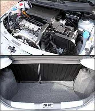 Capacidade do porta-malas é a mesma declarada para o modelo anterior: 285 litros