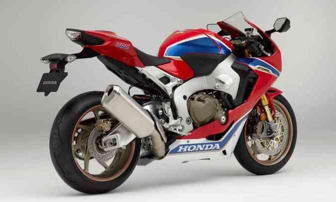 O motor tem quatro cilindros em linha e 189cv(foto: Honda/Divulgação)