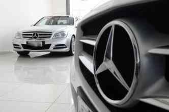 Perfil de comprador de Mercedes e Lexus é formado pelos mais experientes(foto: João Velozo/DP)