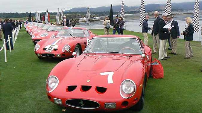 22 Ferraris 250 GTO(foto: Boris Feldman/EM/D.A Press )