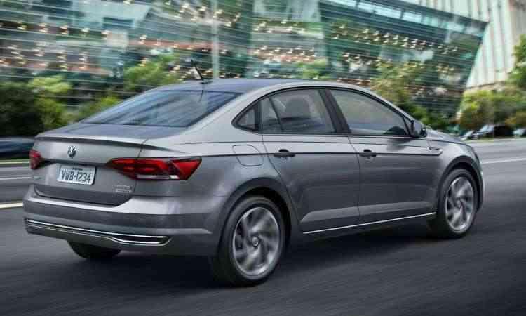 Apesar de trazer um visual mais discreto, o Virtus tem um conjunto mais harmônico e linhas que resultam numa esportividade natural - Volkswagen/Divulgação