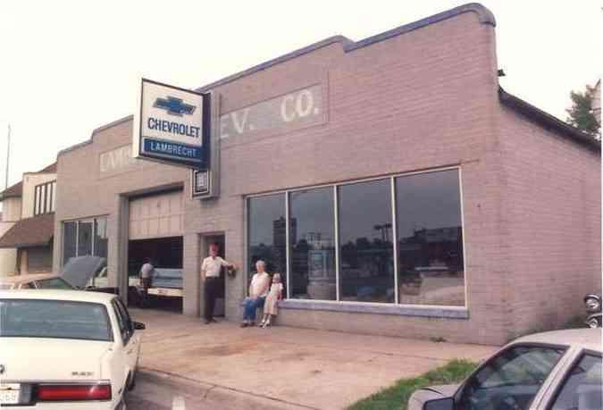 Revenda da Chevrolet funcionou até 1996(foto: VanDerBrink Auctions/Divulgação)