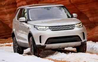 Aposta é para quem curte uma proposta ousada(foto: Land Rover / Divulgação)