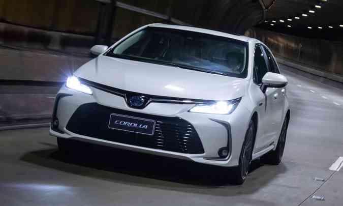 Toyota Corolla teve 5.041 unidades emplacadas nos dois primeiros meses do ano (foto: Toyota/Divulgação)
