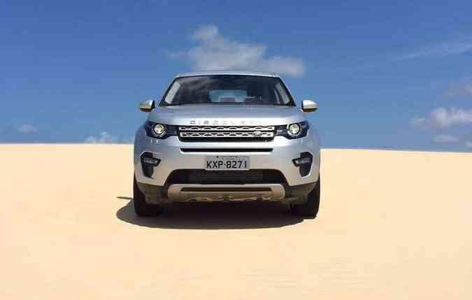 SUV percorreu trajetos com dunas e também estradas asfaltadas sem problemas(foto: Wagner Souza/Esp. DP)