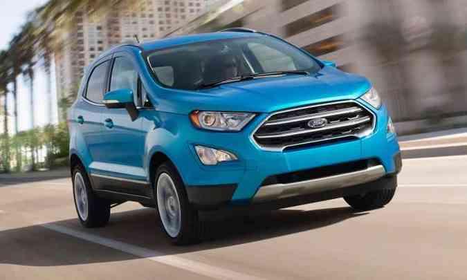 Ford EcoSport (foto: Ford/Divulgação)