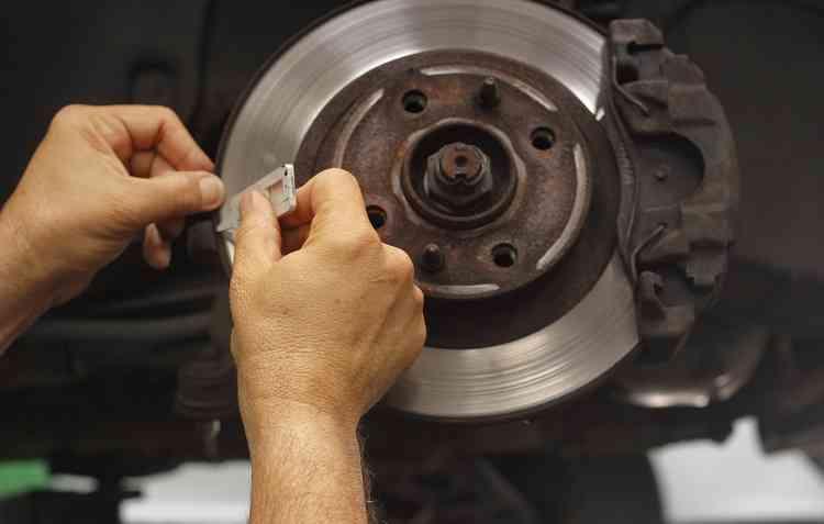 O freio a motor ajuda na conservação do sistema comum. Foto: Thalyta Tavares / Esp. DP -
