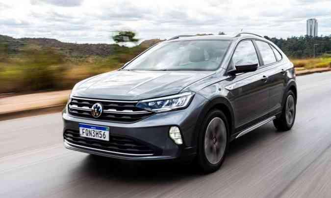 O Volkswagen Nivus foi lançado no final de junho e agora ganha o título de