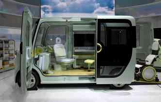 Modelo pode se transformar em um escritório móvel(foto: Toshifumi Kitamura / AFP)