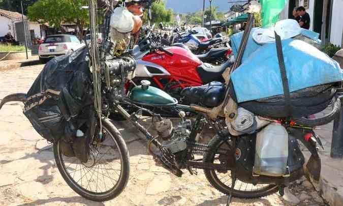 Não importa o modelo e o tamanho do motor para participar do encontro(foto: Fred Mancini/Bike Fest/Divulgação)