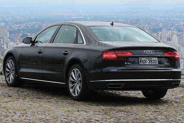 Linhas limpas sem rebuscamento dão mais refinamento ao grandalhão da Audi, que mantém a elegância, apesar das dimensões - Euler Junior/EM/D.A Press