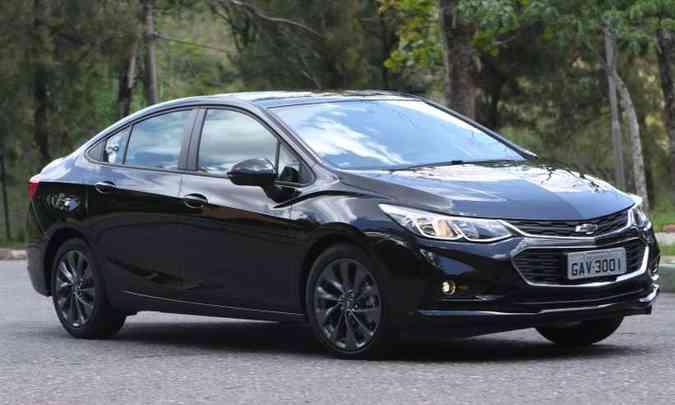 Chevrolet Cruze(foto: Edésio Ferreira/EM/D.A Press)