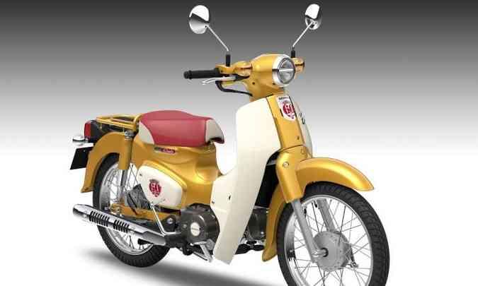 O modelo de número 100 milhões ganhou decoração especial(foto: Honda/Divulgação)