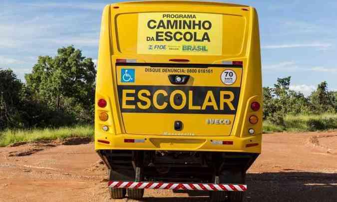 Redução de balanço traseiro permite acesso à lugares acidentados(foto: Iveco/Divulgação)